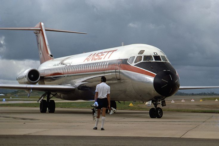Ansett Airlines Of Australia McDonnell Douglas DC-9-30 (VH-CZD)