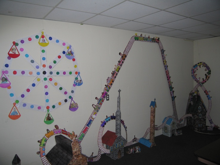 Refuge Vbs Craft Room With Actual Pictures Of Kids From