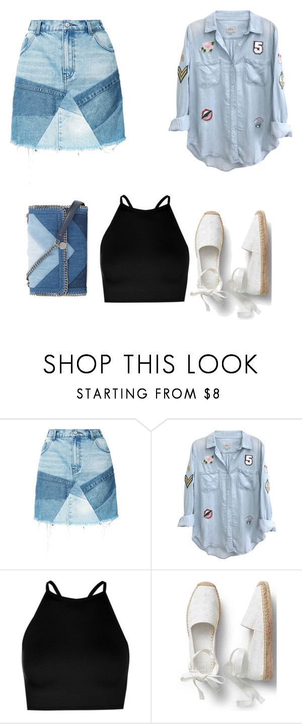 """Untitled #126"" by putrinaini on Polyvore featuring PRPS, Rails, Boohoo and STELLA McCARTNEY"