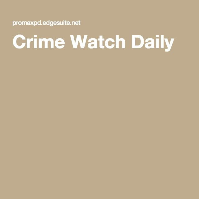 Crime Watch Daily 2