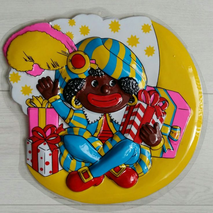 Sinterklaas etalagebord