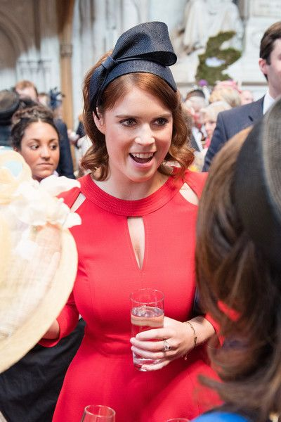 Princess Eugenie Photos Photos - Princess Eugenie attends a lunch after the National Service of Thanksgiving as part of the 90th birthday celebrations for The Queen at The Guildhall on June 10, 2016 in London, England. - Guildhall Lunch Following The National Service Of Thanksgiving To Celebrate The Queen's 90th Birthday