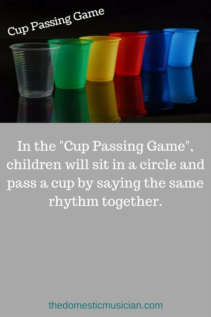 Online music lessons for kids elementary music education lesson cup passing game for your homeschool or classroom music.