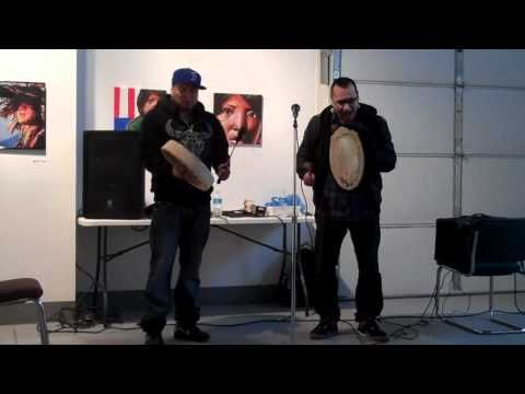 ▶ Culture Shock Camp - Traditional Prayer at Trickster Gallery - YouTube