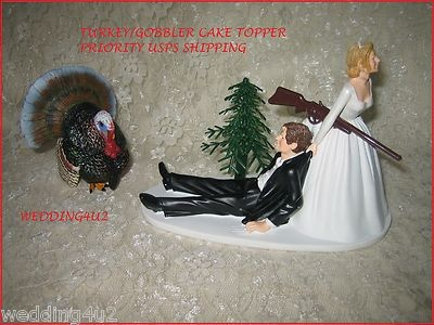 turkey hunter wedding cake topper 111 best images about rehearsal dinner ideas on 21294