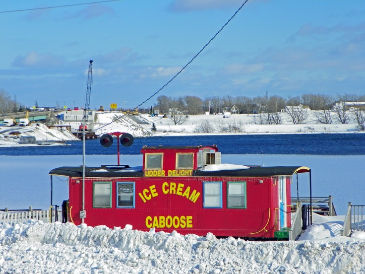 The Ice Cream Caboose of Little Bras d'Or_Cape Breton Island http://www.scoop.it/t/cape-breton-island-news-views