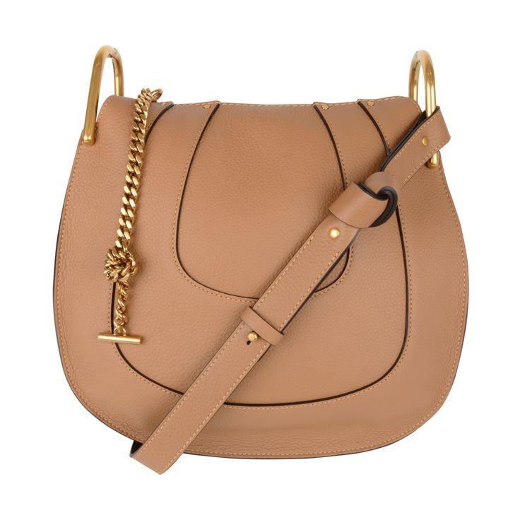 Sac Hayley à bandoulière en cuir - 2 050 $ CHLOÉ Hayley leather hobo cross-body bag