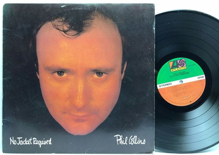 Phil Collins - No Jacket Required Atlantic Original LP, Vinyl, Record, Album