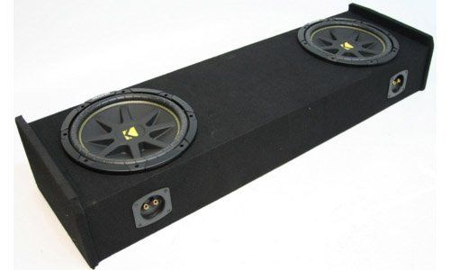 """ASC Package Ford F-150 97-99 Extended Cab Truck Dual 12"""" Kicker C12 Subwoofer Sub Box Enclosure 600 Watts Peak. ASC Package Ford F-150 97-99 Extended Cab Truck Dual 12"""" Kicker C12 Subwoofer Sub Box Enclosure 600 Watts Peak."""