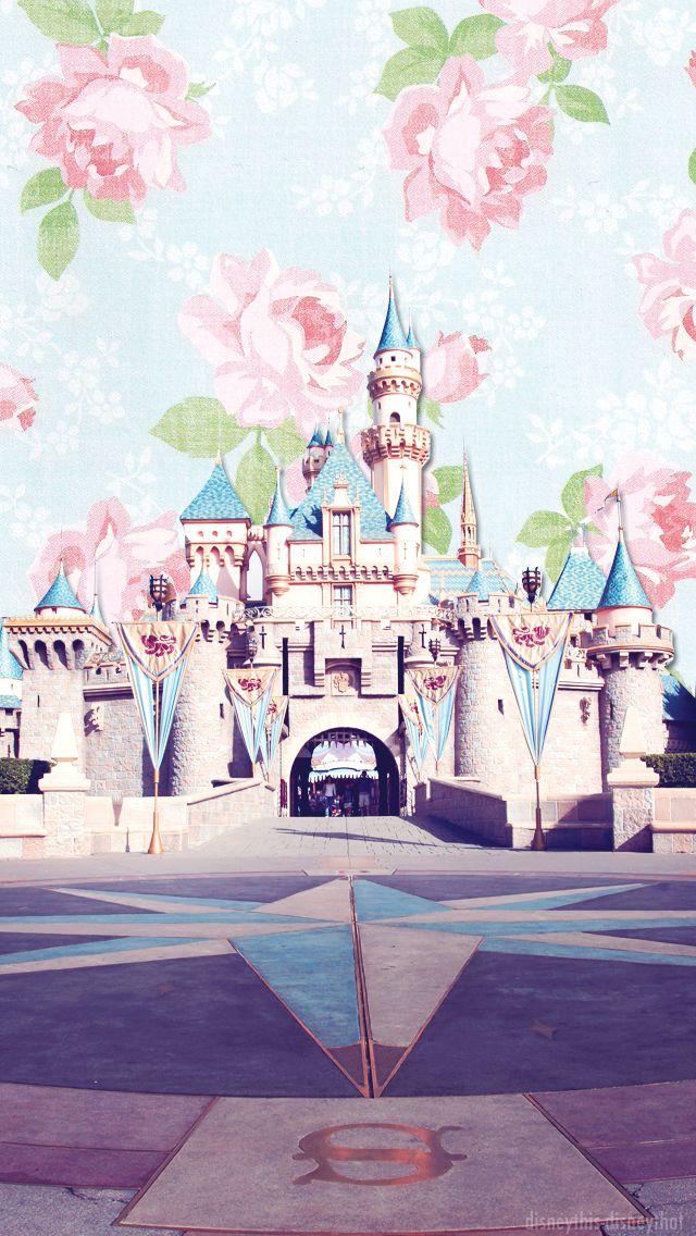 DisneyThis. DisneyThat. - Phone Backgrounds → Sleeping Beauty Castle