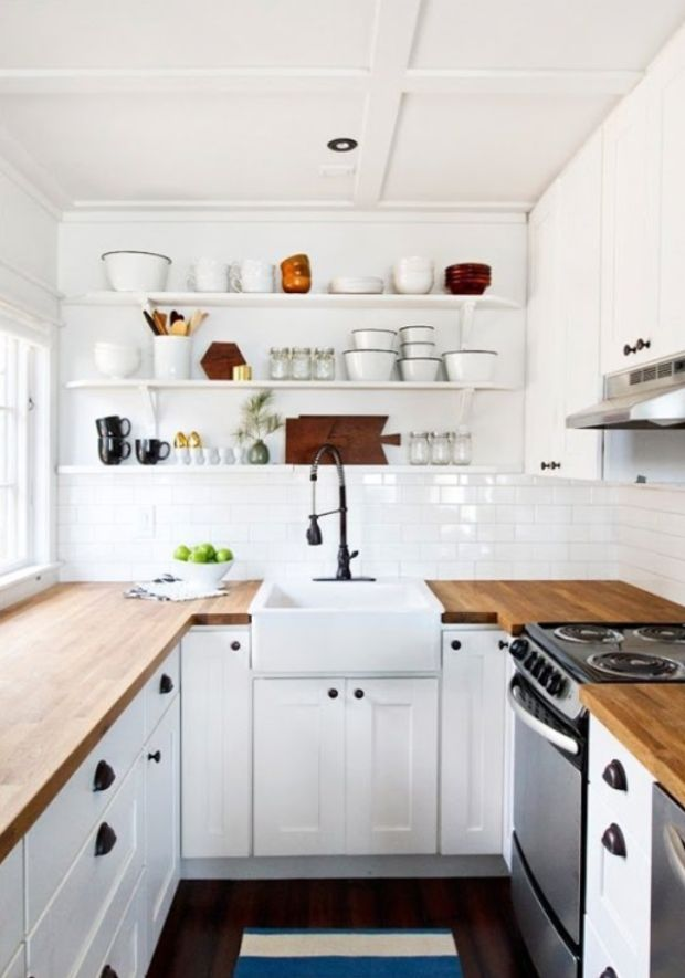 20 Incredible Kitchens With Butcher Block Countertops - Airows