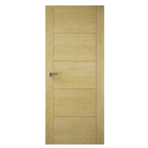 Found it at Wayfair.co.uk - Milano 5 Panel Unfinished Slab Internal Door