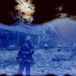 Des photos du 11 septembre endommagées par l'ouragan Sandy