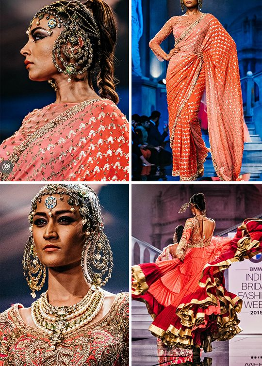 India Bridal Couture : Suneet Varma's Swarovski Crystal Couture (Desi Bridal Shaadi Indian Wedding Mehndi Walima)
