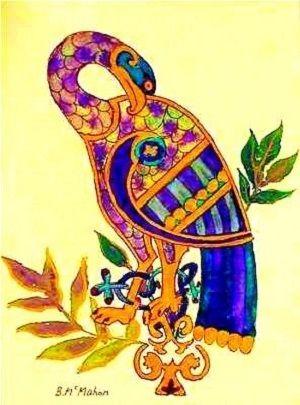 Celtic Christian symbol for the Holy Spirit