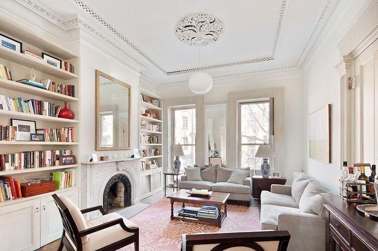 brownstone parlor floor - Google Search