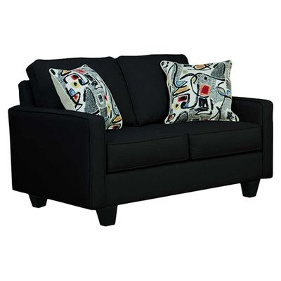 "Graham 54"" Loveseat & Reviews 
