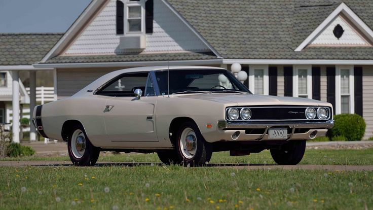 1969 Dodge Hemi Charger 500 presented as Lot S110.1 at Indianapolis, IN