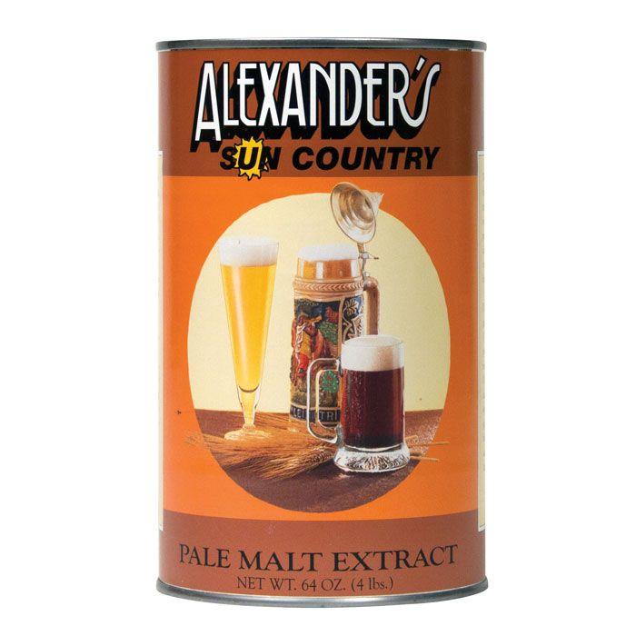 Alexander's (USA) Pale Malt Extract- 4 lb.