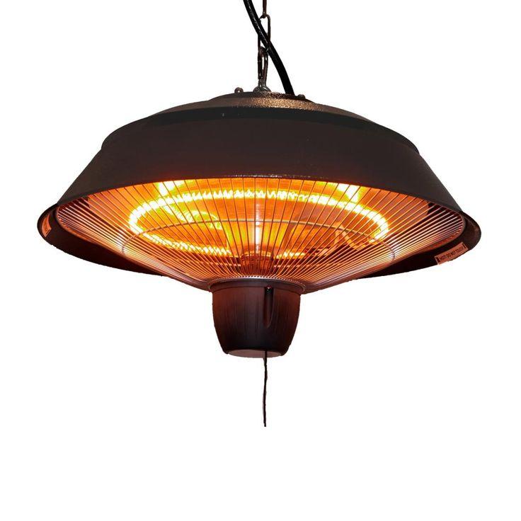 Ener G+ HEA 21723 1500W Infrared Patio Gazebo Ceiling Heater