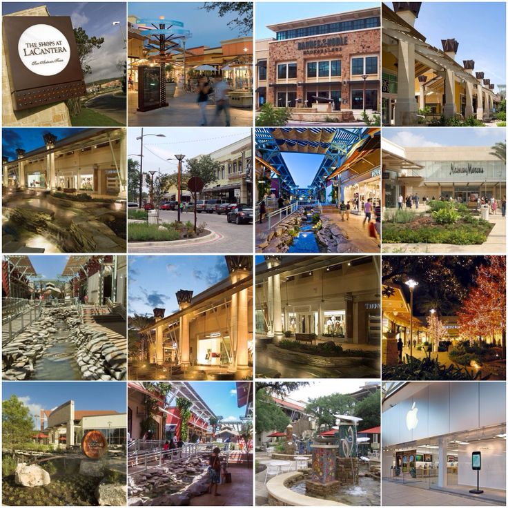 The Shops At La Cantera Is An Upscale Open Air Regional