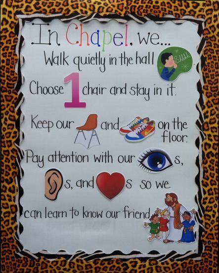 Interactive Rule Board - Preschool Classroom Management Idea