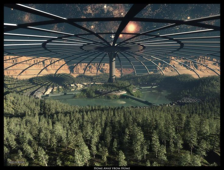 Home away from Home by ArthurBlue | Mars Colony | Pinterest
