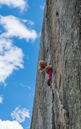 Body sore, hands bloody, and limbs frozen. Team #climber  Emily Harrington finds herself humbled as she transitions to big-wall climbing. Click to read her blog.