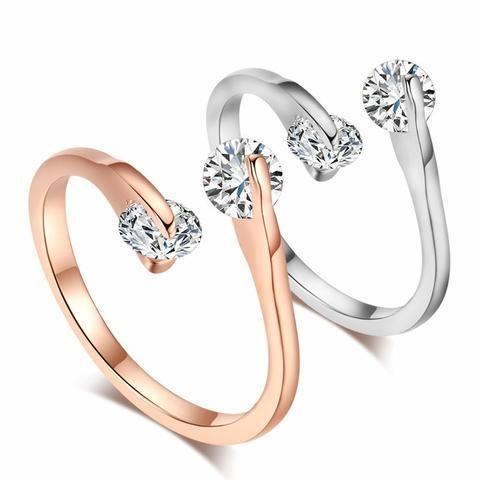 Double Split Luxury Ring