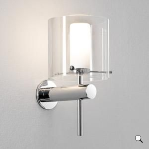AREZZO applique bagno in vetro
