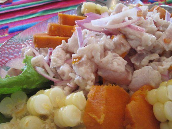 Classic Peruvian ceviche | Food: Seafood | Pinterest