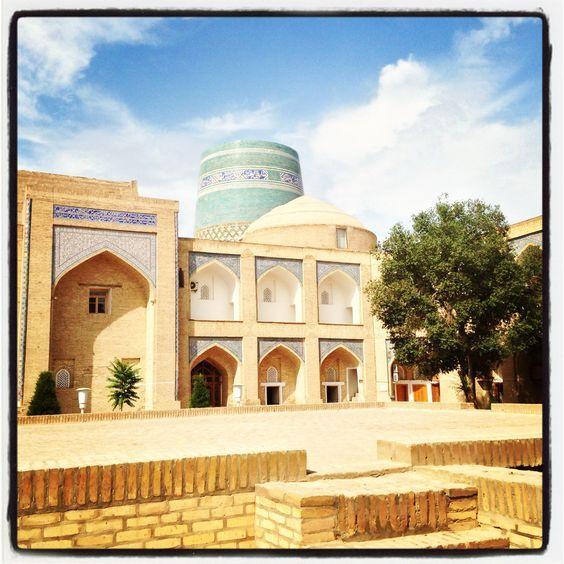 Albergo all'interno di Khiva. Photo by Riccardo Negro