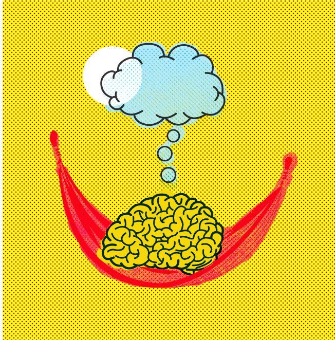 Brain Vacay illustration ny Oddland.se