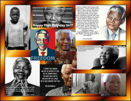 The World will miss you Nelson Mandela (30 pieces)