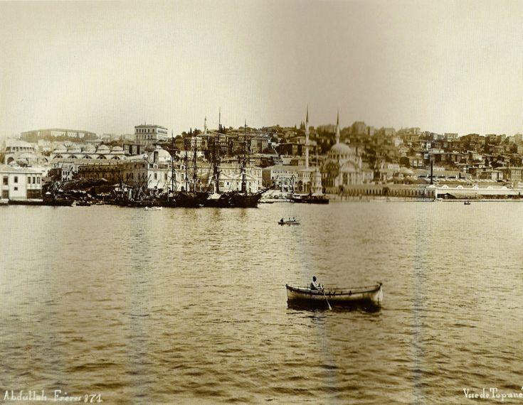 Eski İstanbul / Tophane Abdullah Fréres fotoğrafı