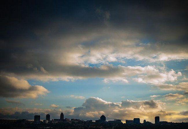 View of Sandton's skyline from Katy's Palace Bar Wedding Venue ft. in our 10 Lovely Johannesburg Wedding Venues | Confetti Daydreams ♥ ♥ ♥ LIKE US ON FB: www.facebook.com/confettidaydreams ♥ ♥ ♥ #Wedding #Johannesburg #WeddingVenue