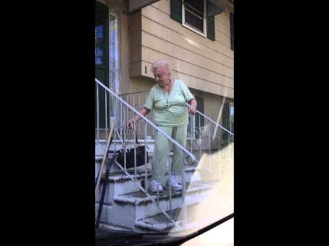 "YouTuber Nana Feole loaded this video on March 6, 2013 with the caption ""Cheers to my 88-year-old Nana… Life is good, dance on."" - I love her spirit!  Click on full screen for the best view."