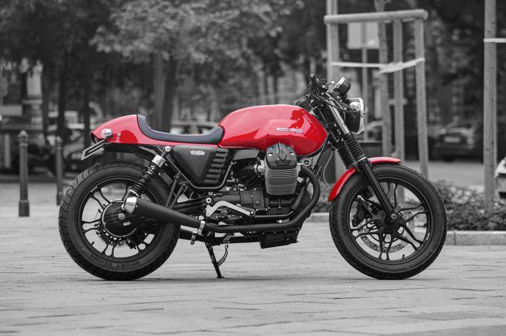 17 best images about moto guzzi v7 custom on pinterest. Black Bedroom Furniture Sets. Home Design Ideas