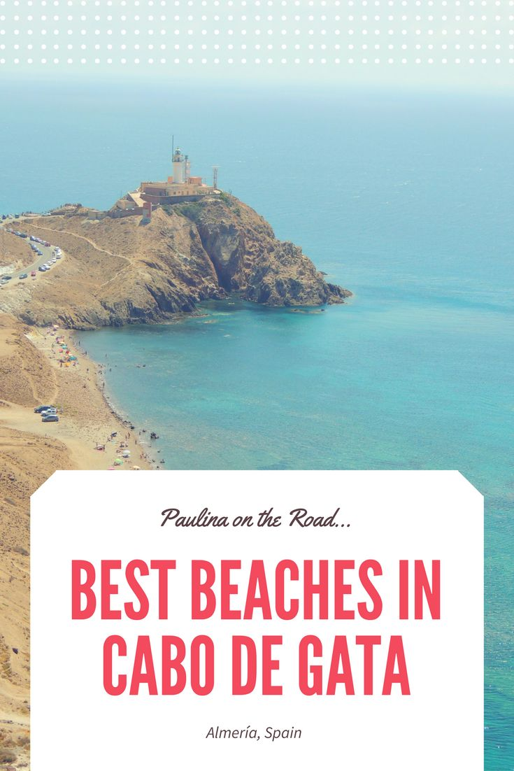 Where are Cabo de Gata's best beaches? A selection of things to do in the national park near Almeria. Where to stay in San José, Las Negras, Monsul Beach, Camping + Map.