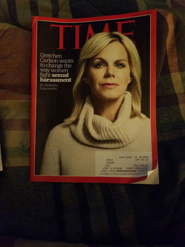 TIME Magazine Oct 31, 2016 Gretchen Carlson wants to change the way women fight sexual harassment   https://nemb.ly/p/SJ7I5Gggx Happily published via Nembol