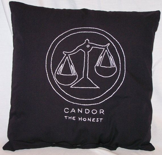 Divergent Inspired Candor The Honest Throw by ColoradoComfort, $15.00