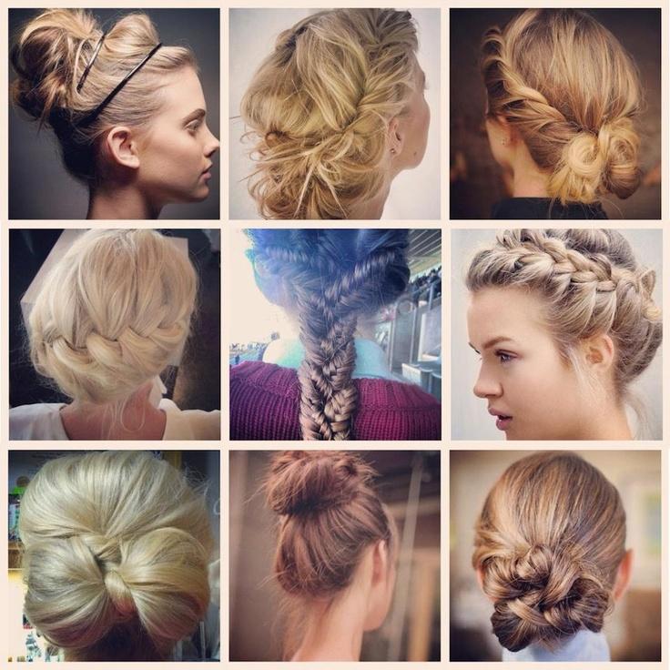 Pretty poufs! #hair #braids #style
