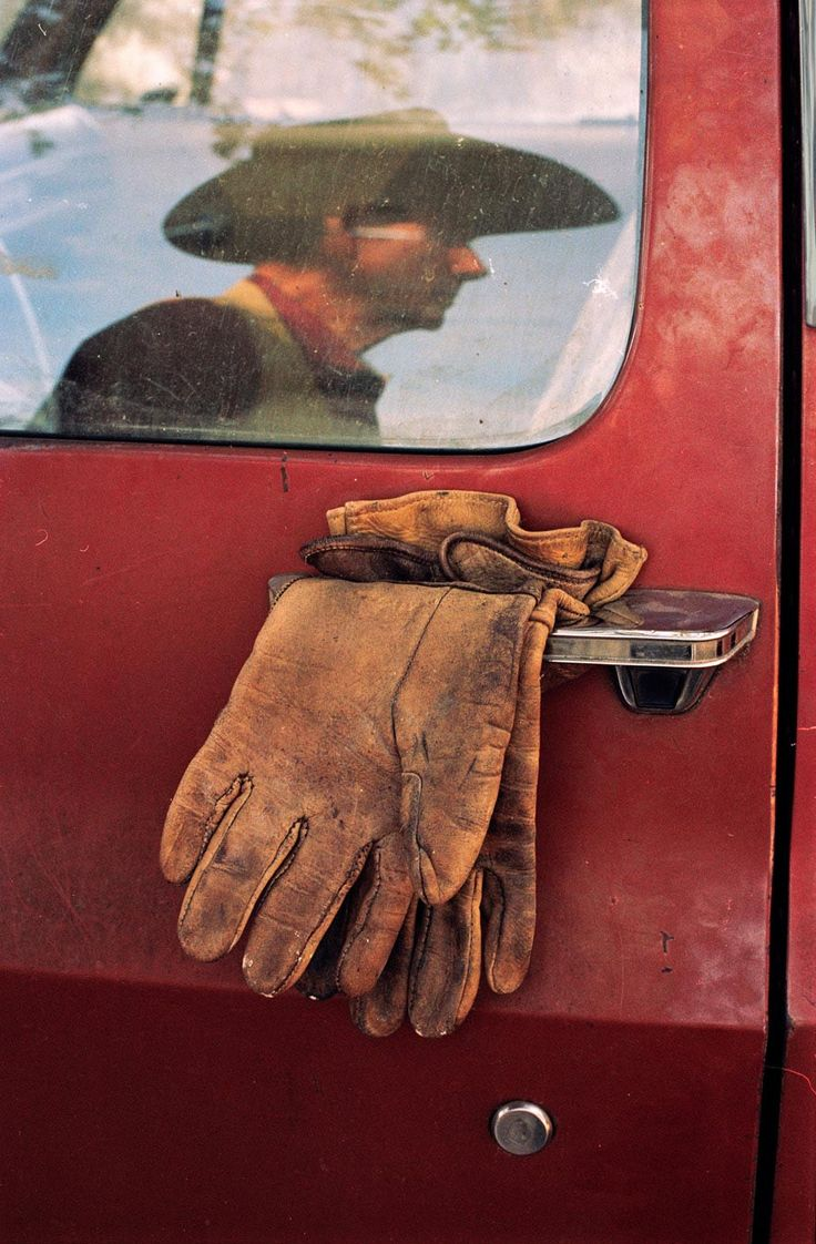 Like a great pair of work gloves, a man's Stetson can be depended on to help him get through his day.