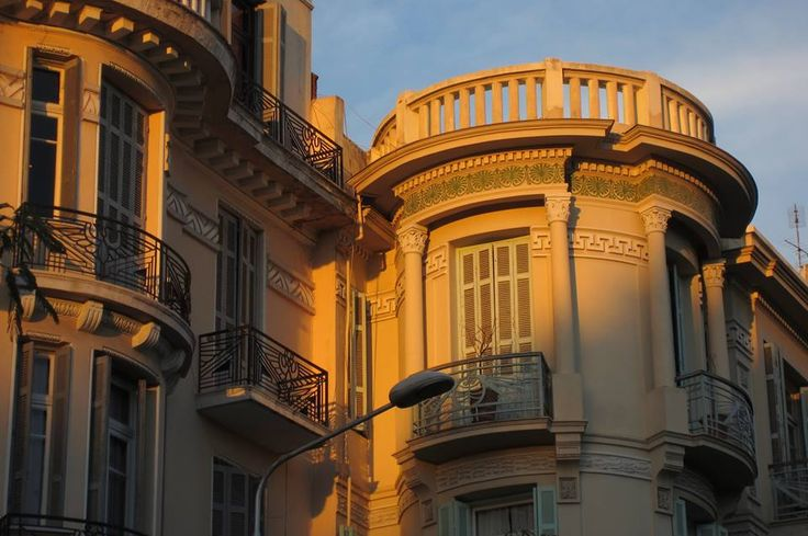 Philippou Street , Thessaloniki -- the way we were ...  Beautiful architecture revealing the majesty of days gone by can be seen throughout Thessaloniki Macedonia in northern Greece