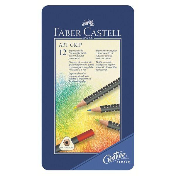 Farbstift ART GRIP 12er Metalletui Ca. 15,00€