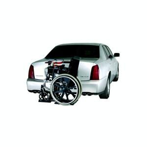 The AL030 Power Tote Vehicle Lift by Harmar is fully powered with one-switch operation for easy transportation your manual wheelchair.  This is a customer and SpinLife favorite.