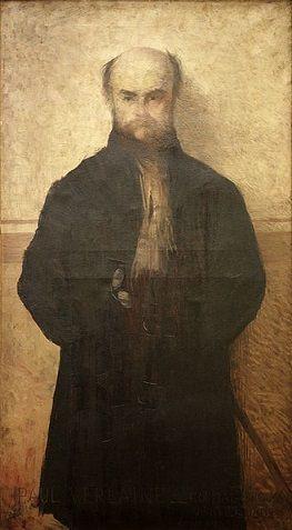 Paul Verlaine, 1892 (Edmund Aman-Jean) (1856-1936)   Musées de Metz