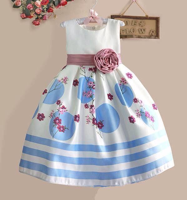 white birthday dress for baby girl