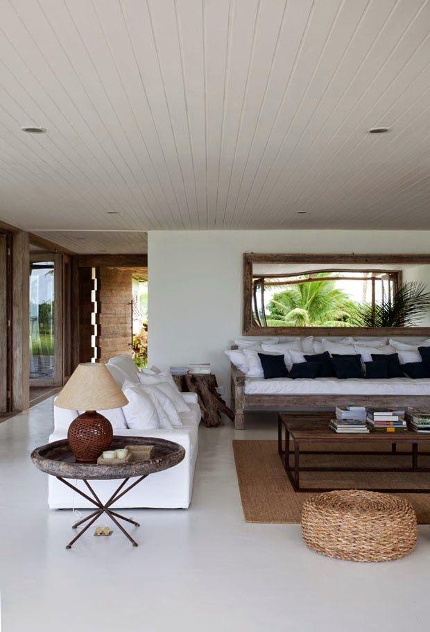 Linea R: Una casa de estilo natural en Brasil