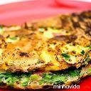 Experimente a receita de omelete verde, rica em vegetais, deliciosa e rápida no preparo. Faça em casa a receita fácil e saudável de omelete verde